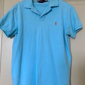 Polo Ralph Lauren Mesh Custom Fit Polo Shirt
